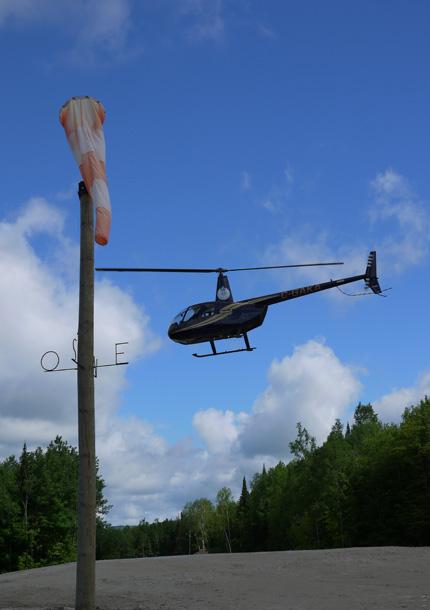 Tours d'hélicoptère